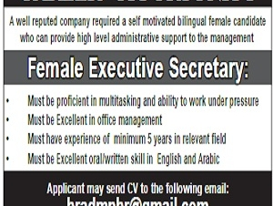 Female Executive Secretary
