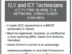 ELV and ICT Technician